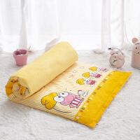 幼儿园床垫子棉加绒垫套儿童床褥四季宝宝床午睡婴儿床丝绵垫芯