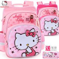 凯蒂猫小学生儿童书包1-3-4年级6-10岁减负护脊女童女孩双肩背包