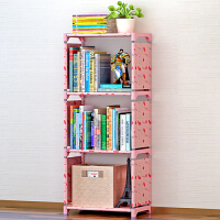 思故轩简易书架 书柜置物架 创意组合层架子 落地儿童书橱sjsx104