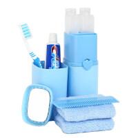 旅行洗漱杯牙刷牙膏便携套装户外出差用品旅游分装瓶洗漱包女男