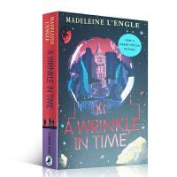 英文原版A Wrinkle in Time 时间的皱折 迪斯尼动画 梅格时空大冒险1 纽伯瑞金奖 关于爱 宽容与坚持的