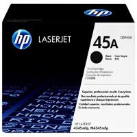 惠普原装正品 hp Q5945A黑色激光打印硒鼓 hp45墨粉盒 惠普hp LaserJet M4345mfp打印机墨