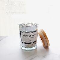精油香薰蜡烛香味天然大豆蜡薰衣草玻璃杯蜡无烟香氛蜡烛礼盒
