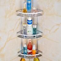 洗澡用具打孔家居置物架间三角用品免壁挂卫生间多层浴室吸盘墙上
