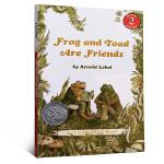【顺丰包邮】汪培�E推荐第三阶段英文原版 I Can Read Level 2 Frog and Toad are Fr
