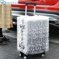 透明加厚PVC拉杆箱套 防雨耐磨行李箱套 防尘罩防水保护套
