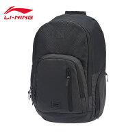 李宁双肩包男包女包2018新款运动时尚系列背包学生书包运动包ABSN196