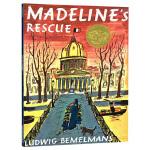 玛德琳的营救 英文原版绘本 Madeline's Rescue 玛德琳的救命狗 廖彩杏推荐书单 凯迪克金银双奖韵文与歌