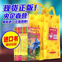 英文原版 Geronimo Stilton老鼠记者 51-60册 儿童章节小说彩色插图漫画青少年冒险探险丛书儿童文学桥梁