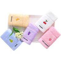 儿童毛巾洗脸家用宝宝洗脸童巾卡通小毛巾 2条装