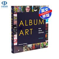 英文原版 Album Art 专辑:新音乐图形 进口艺术书 New Music Graphics 唱片专辑设计画册 平面