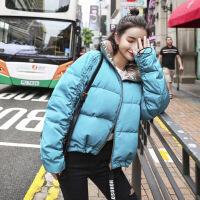 2018冬装新款女装时尚bf街头面包服潮流小气质外套