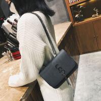女士小包包新款时尚百搭单肩斜挎链条包韩版流苏小方包