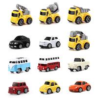 儿童合金回力玩具车套装 男孩耐摔惯性小汽车宝宝迷你回力车套装