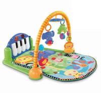 健身架0-6个月早教宝宝BMH49脚踏钢琴W2621婴儿玩具游戏垫抖音
