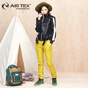 AIRTEX亚特户外徒步裤女加厚软壳裤滑雪防风裤子登山裤保暖冲锋裤