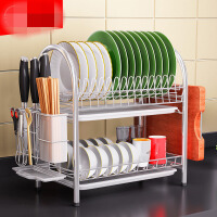 304不锈钢厨房碗架沥水架碗筷碗碟架沥碗架放盘用品收纳盒置物架ig9
