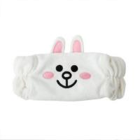 创意兔子洗浴发带可爱化妆洗浴松紧头饰发箍送女友爱人礼物