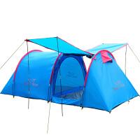家庭3-4人帐篷多人露营野外大帐篷 户外6-8人帐篷