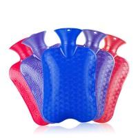 注水充水暖水袋  厚PVC热水袋  可拆洗暖宫暖胃绒布暖手宝