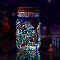 萌味 �S愿瓶 星星瓶夜光�S愿瓶520塑料管星空瓶漂流瓶�晒庹奂�玻璃瓶送女朋友同�W圣�Q生日新年情人��Y物 ��意�Y品