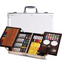 0726171715020画笔套装美术学习用品画画工具绘画蜡笔女孩水彩笔工具箱礼物