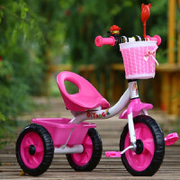 W 儿童三轮车宝宝婴儿手推车幼儿脚踏车1-3-5岁小孩童车自行车
