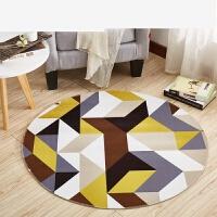 圆形地毯地垫可定制吊篮藤椅垫电脑椅垫卧室床边卡通门垫脚垫 直径100x100厘/圆形