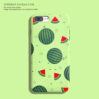 夏日西瓜iPhone6s/7/8plus手机壳苹果 max软壳xr防摔保护套女款