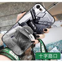 苹果7手机壳 iPhone8手机壳 iPhone7plus手机壳 苹果8plus男女款手机套硅胶软壳卡通防摔彩绘保护套