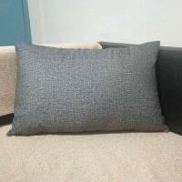 长方形靠枕靠垫套不含芯客厅沙发抱枕腰枕大靠背大号床头定做家用