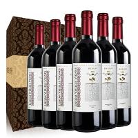 智利原瓶进口红酒 美乐梅洛干红葡萄酒 整箱