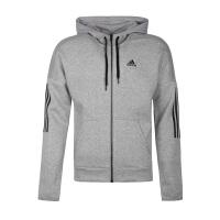 Adidas阿迪达斯 男装 运动休闲加绒连帽夹克外套 DM7588