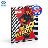 英文原版 DK 漫威 黑寡妇 Melanie Scott 精装 Marvel Black Widow Secrets o