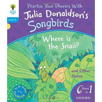 英文原版 Oxford Reading Tree Songbirds: Where Is the Snail and