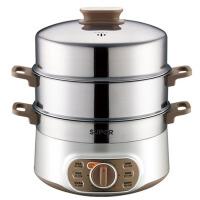 家用电蒸锅不锈钢双层电蒸笼双层电锅