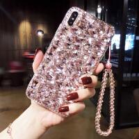 网红新款苹果手机壳带钻女iphone6s奢华水钻8x韩国大气潮牌