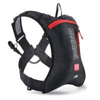 户外双肩骑行背包水袋包男女自行车马拉松越野跑步背包 红黑