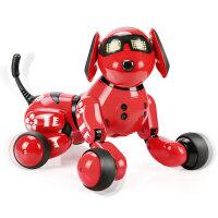 实丰旺仔小六?智能机器狗儿童玩具狗3-6周岁唱歌走路电动仿真狗抖音 2018央视春晚跳舞机器狗