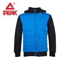 Peak/匹克 冬季男款 保暖舒适撞色连帽耐穿运动棉服 F534067
