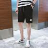 男士短裤五分裤夏天休闲中裤子男4XL大码沙滩裤夏季运动大裤衩薄K1782