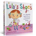 【顺丰速运】英文原版 Lulu's Shoes 露露的鞋子 Lulus大明星系列 0-3-6岁低幼儿童启蒙绘本纸板书