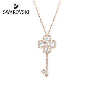 SWAROVSKI/施华洛世奇 Deary Key浪漫钥匙项链毛衣链 5345156