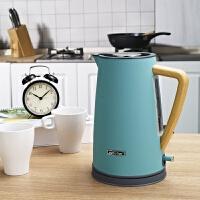 思迪乐 电热水壶 英式 电热水壶304不锈钢烧水壶 自动断电 电水壶