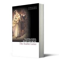 英文原版小说 红字 The Scarlet Letter 柯林斯经典文学系列 进口书 正版