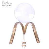 创意金属铁艺工艺品水晶球摆件欧式简约家居客厅酒柜装饰品奢华