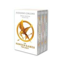 英文原版 饥饿游戏10周年3册套装 含新内容 作者访谈 The Hunger Games 10th Anniversa