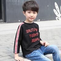 童装男童春装T恤新款中大童儿童运动卫衣上衣春秋潮