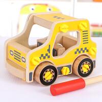 儿童小汽车玩具积木启蒙拼装玩具1-2-3-6-7-8-10周岁男孩智力