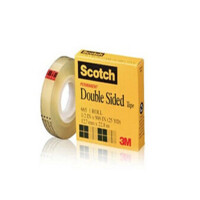 3M胶带 透明双面胶带Scotch思高665 12.7mm*22.8m透明双面胶